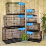 Goede hondenbench kopen? Zwarte benches voor alle honden: zware uitvoering, uitstekende kwaliteit!