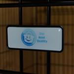 Stevige Hondenbench 93cm met het kwaliteits-logo wat 'ie verdient: DSP Best Quality!
