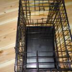 Benchverkleiner, of tussenschot, voor hondenbench 48cm