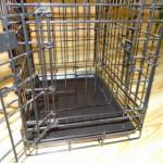 Tussenschot of benchverkleiner voor hondenbench 63cm, zwart