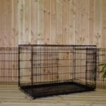 Grote hondenbench 124cm met dikke tralies
