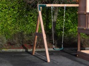 Aanbouwschommel Enkel Succes Douglas Laag 180x240x212cm