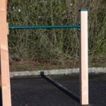 Duikelrek Groen - met 1 paal 90 cm