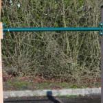 Duikelstang groen met Douglas paal
