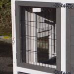 Konijnenhok Prestige: Plexiglas isolatieplaatje voor nachthok