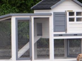 Plexiglas Isolatie Set voor konijnenhok Advance