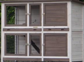 Plexiglas Isolatie Set voor konijnenhok Annely