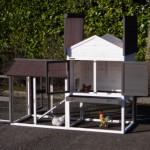 Kippenhok Prestige Medium is voorzien van ruime deuren voor optimale toegankelijkheid