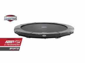 BERG InGround trampoline Elite Grijs 380cm