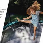 BERG trampoline met Airflow springdoek