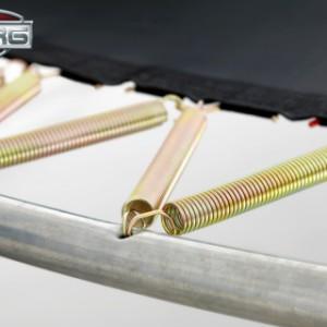 Trampoline BERG Champion met veiligheidsnet Deluxe 380cm - Twinspring Gold veren