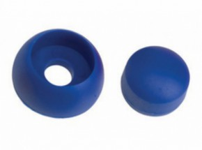 Kunststof afdekdop voor bouten Blauw set 10 stuks