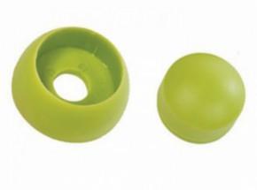 Kunststof afdekdop voor bouten Limoen groen set 10 stuks