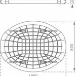 Nestschommel Oval afmetingen