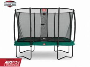 Trampoline BERG EazyFit safety Groen - met veiligheidsnet 330x220cm