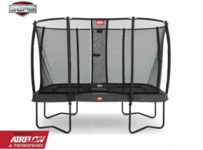 Trampoline BERG EazyFit safety Grijs - met veiligheidsnet 330x220cm