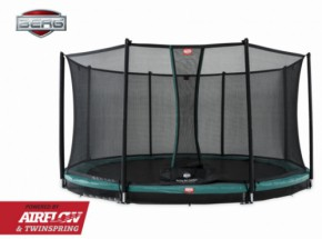 Trampoline BERG Champion InGround Groen - met net Comfort 330cm