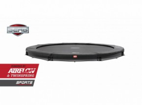 Trampoline BERG Champion 380 InGround Grijs 380cm