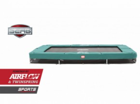 Trampoline BERG Ultim InGround Groen 330x220cm
