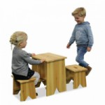EXIT Junior Picknickset Large met 2 krukjes