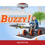 BERG Buzzy skelter: Stabiel door het vierde wiel!