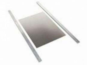 Aluminium luikje eend met 2 geleiders van 68cm 30x45 cm