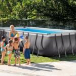 Zwembad Intex Ultra Frame Rectangular met zandfilterpomp en toebehoren 549x274x132 cm
