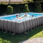 Zwembad Intex Ultra Frame Rectangular met zandfilterpomp en toebehoren 732x366x132 cm