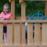 Ruime speeltorens voor meerdere kinderen