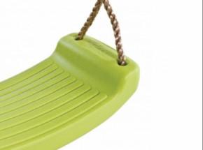 Schommelzitje kunststof Limoen groen - met PP-touw