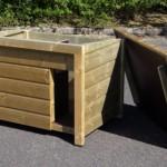 Los dak of scharnierdak voor hondenhok