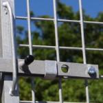 Draad kennelpaneel met deur 200x184cm