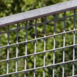 Draad kennelpaneel van verzinkt staal, met een breedte van 1 meter, totale afm. 100x184cm
