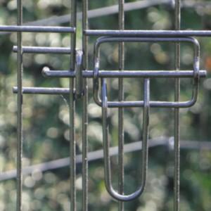 Zware Konijnenren 8 panelen Hoogte 107cm
