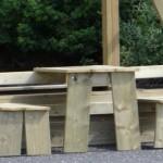 Speeltoren Park - houten picknicksetje