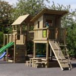 Speeltoren Park - groot speelhuis van hout