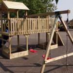 Speeltoestel Joas - met 2 schommels en klimtouw