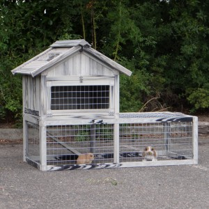 SHOWMODEL - konijnenhok Elynn 145x80x104cm