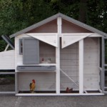 Kippenhok Holiday Medium - met ruime deuren