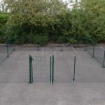 Dierenren Square 6x6m, van groene gaaspanelen